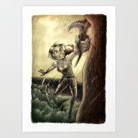 Lara Art Print