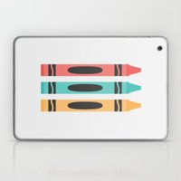 #94 Crayon Laptop & iPad Skin
