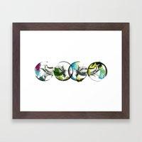 crawl Framed Art Print
