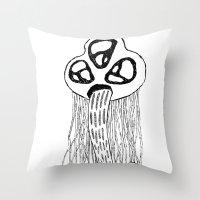STELLARCREATURES Throw Pillow