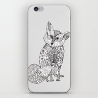Doodle Fox iPhone & iPod Skin