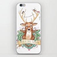 Deer Valentine iPhone & iPod Skin