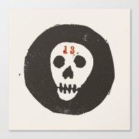 thirteen Canvas Print