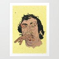 The Bulimic Sphincter #3 Art Print