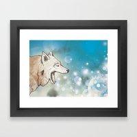 Scattered Framed Art Print