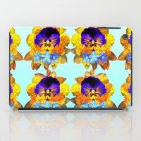Royal Pansy iPad Case