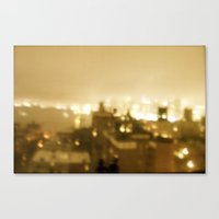Together As A City Burns Canvas Print