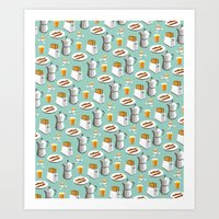 Happy breakfast! Art Print