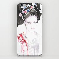 Watercolor illustrations iPhone & iPod Skin