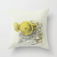 WL / II Throw Pillow