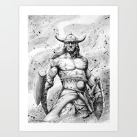 CONAN Robert E. Howard Art Print
