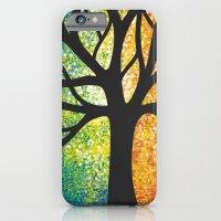 Stencil Tree Canvas iPhone 6 Slim Case