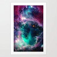 Pillars Of Star Formatio… Art Print