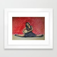 Folk Ballet Framed Art Print