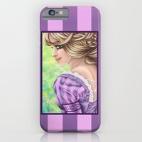 iPhone & iPod Case featuring Rapunzel Portrait by Kimberly Castello