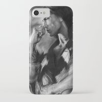 native american iPhone & iPod Cases featuring Native American  by Thubakabra