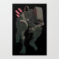 HUGE Bot Canvas Print