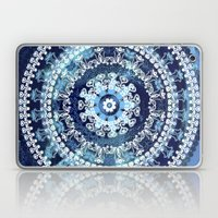 Marina Blue Mandala Laptop & iPad Skin