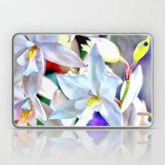 Cascading Cymbidium Laptop & iPad Skin