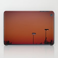 Lights in the Sunset iPad Case