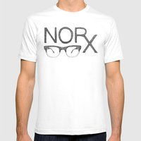 NORx Mens Fitted Tee White SMALL