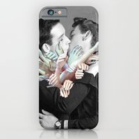 iPhone Cases featuring A Couple of Sailors by Eugenia Loli