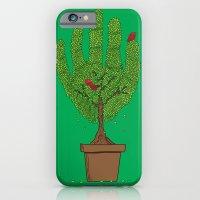 A bird in hand iPhone 6 Slim Case