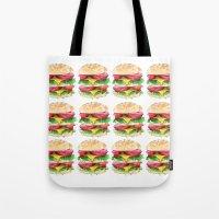 California Burger Tote Bag