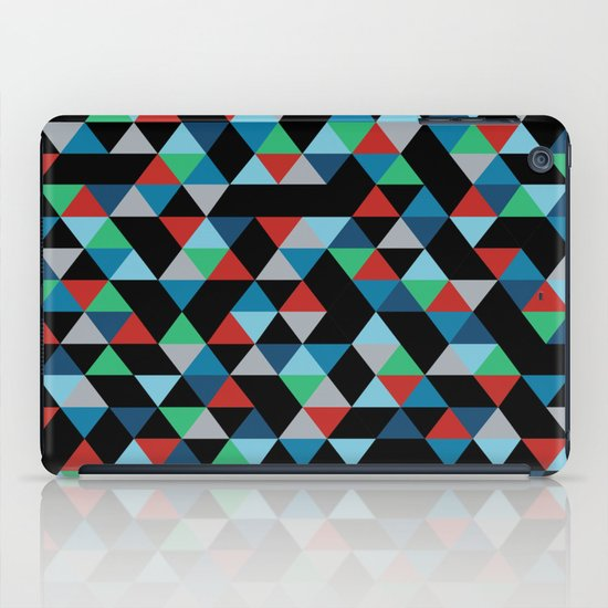 Triangles 4B iPad Case