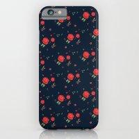 Classic western rose pattern  iPhone 6 Slim Case