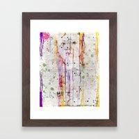 Looking Framed Art Print