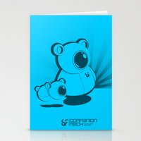 SF Companion Mech Stationery Cards