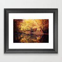 Wisconsin River Framed Art Print