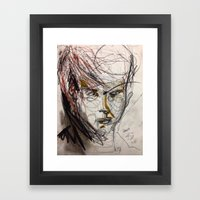Just A Boy Framed Art Print