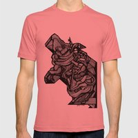 Napoleon Mens Fitted Tee Pomegranate SMALL