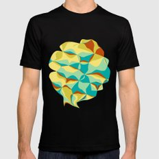Imperfect Tiles Mens Fitted Tee Black SMALL