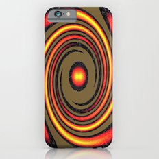 Spiral Fire in abstract Slim Case iPhone 6s
