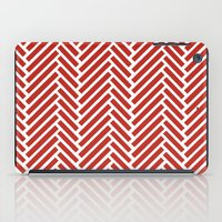 Herringbone Candy iPad Case