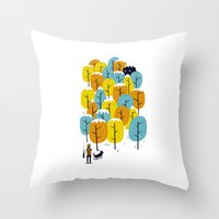 Searching For The Monste… Throw Pillow