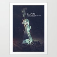 Moreno Dvd Cover Art Print