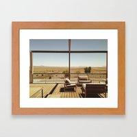 Desert View Framed Art Print