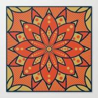 Sugar Lotus Canvas Print