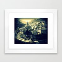 Panorama Of Arnedillo Framed Art Print