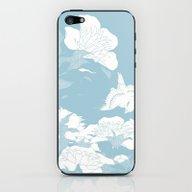 Japanese Flower iPhone & iPod Skin