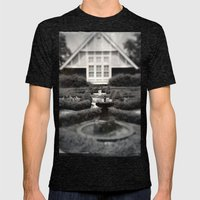 Living in a Dream World Mens Fitted Tee Tri-Black SMALL