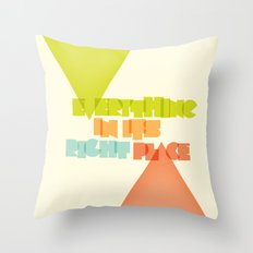Everything . . Throw Pillow