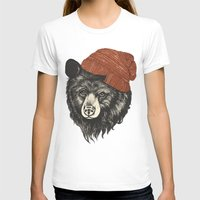 books T-shirts featuring zissou the bear by Laura Graves