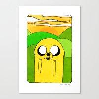 Jake The Dog Canvas Print