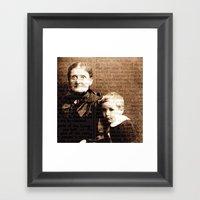 Family History Framed Art Print