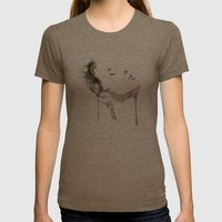 Imprint Womens Fitted Tee Tri-Coffee SMALL